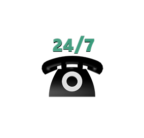 24/7 helpdesk service available for all your questions
