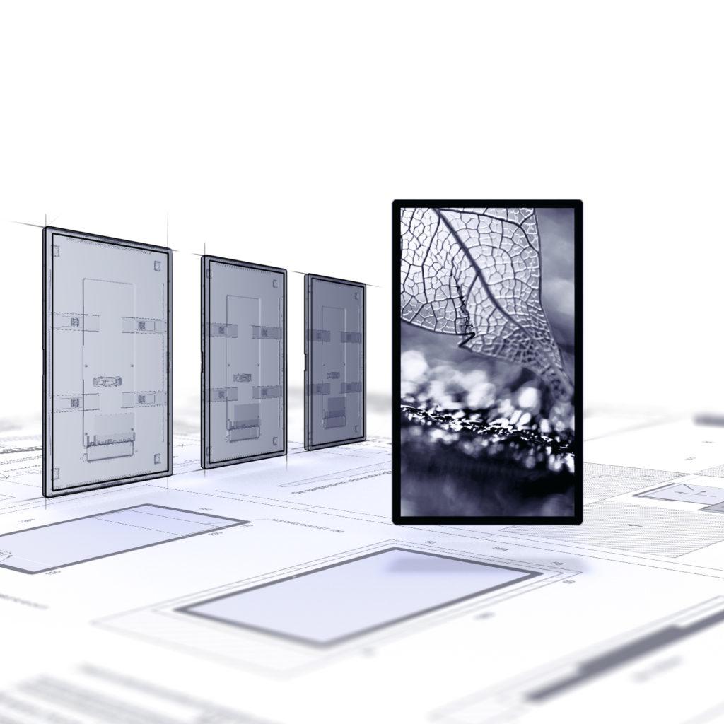 MT.VISION digital communication screens: technical information