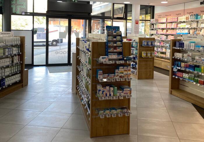 Pharmacie des Voiles interior